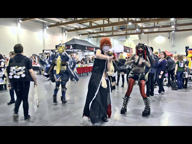 Magnificon 2015 COSPLAY video Industrial Dance Madness by Sayomi