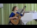 Прокопенко Дарья, 1 тур конкурса Жиновича, Бах, 998, Прелюдия и аллегро