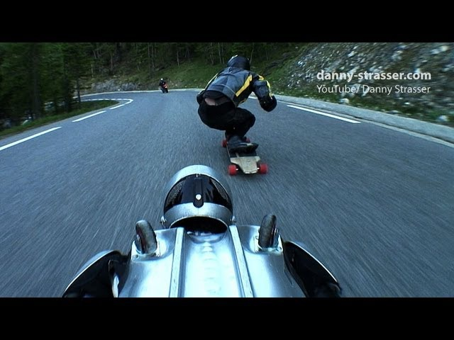 Rollerman Longboard - Downhill Speed Games