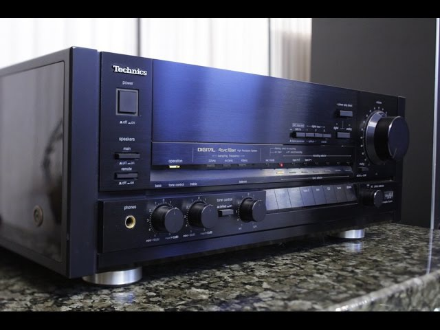 Panasonic RS DC10 DCC deck Technics SU V100D Oldplayer collection