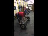 Влад Алхазов ( Израиль ), становая тяга - RAW - 400 кг на 2 раза !