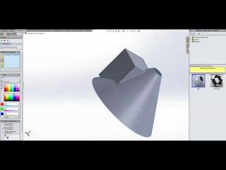 Резка тел в SolidWorks