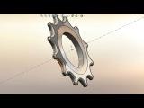 Звездочка моделювання в SolidWorks