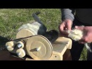 Кардер барабанный для шерсти