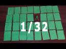 Как сделать модуль 1/32-ая для модульного оригами для начинающих