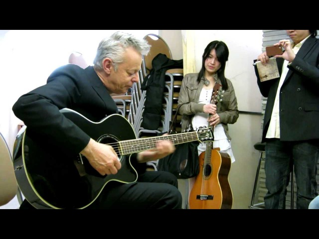 Tommy Emmanuel Meet Greet, International House of Music, Moscow, 21st of April 2012, Part one