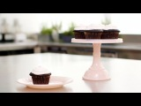3 рецепта шоколадных кексов с жидкой начинкой. Шоколадный фондан видеорецепт.