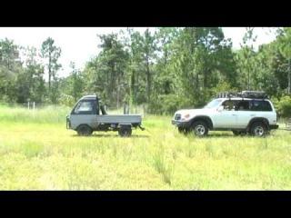 Mitsubishi MiniCab Kei Mini Truck Pull Test
