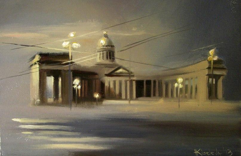 Волшебный Петербург в чудесных картинах Катарины Киселевой VYN8dIr_8qU