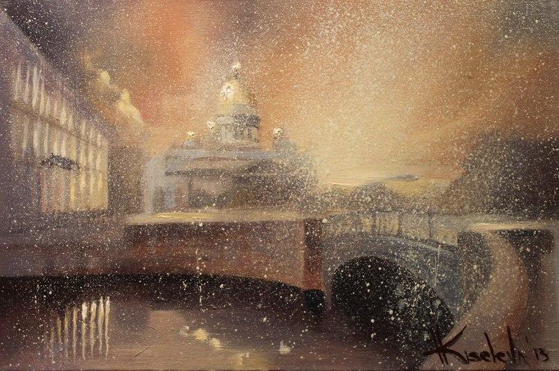 Волшебный Петербург в чудесных картинах Катарины Киселевой ITHKQYvxDzg