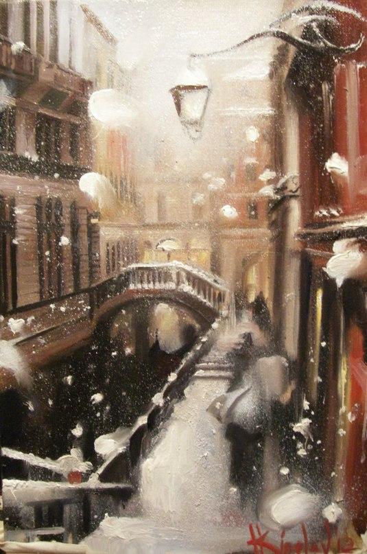 Волшебный Петербург в чудесных картинах Катарины Киселевой Ed-HymtBi9c