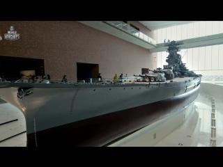 Линкор IJN Yamato. Морские легенды (HD)