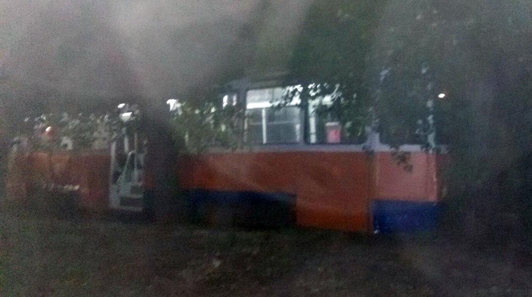 В Таганроге «тройка» снова сошла с рельсов