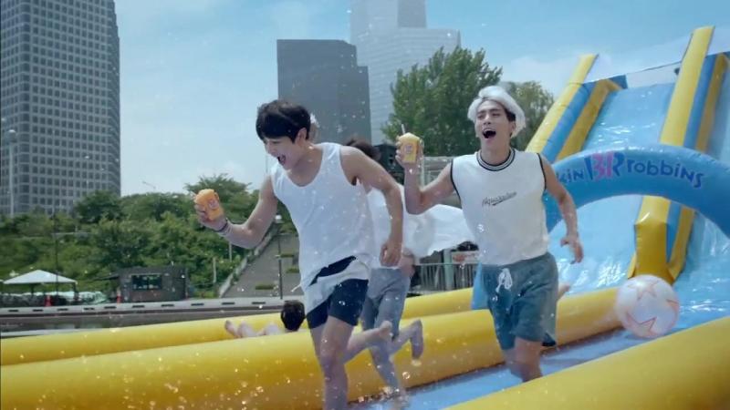 SHINee, f(x), EXO-K RV for ' Baskin Robbins SOMEER'