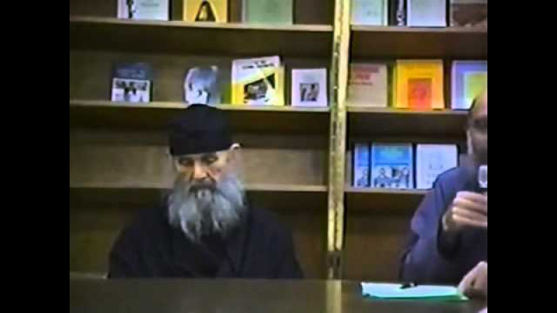 Архимандрит Ефрем (Мораитис) Святогорец, ученик Св.старца Иосифа Исихаста
