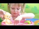 Видео с куклой пупсик, купание пупса в ванночке 🛀 Baby Doll Bath Time