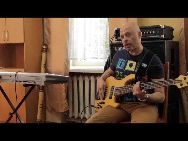 Ігор Закус (бас гітара) майстер клас