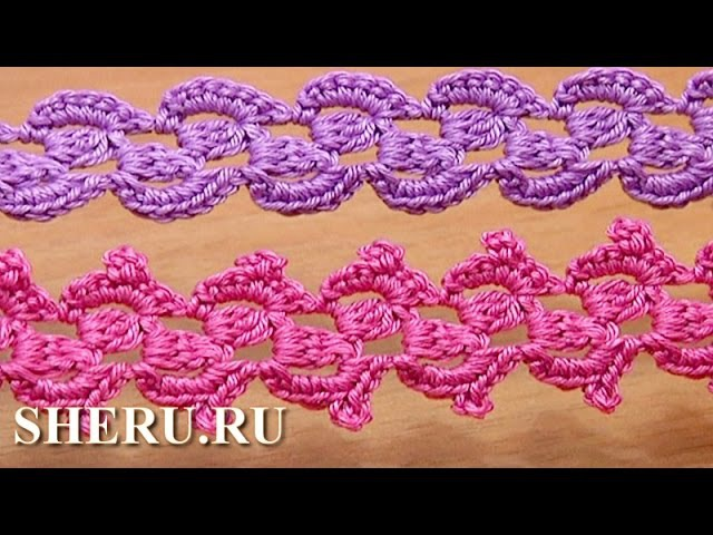 Crochet Braid Ribbon How To Урок 31 Как связать шнур крючком