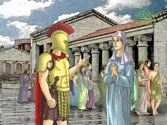 Мульткалендарь. 12 января. Святая мученица Анисия Солунская