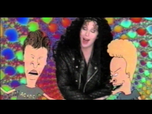 Cher with Beavis Butt-Head - I Got You Babe (Official Music Video)