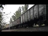 2ТЭ116 1347 со ст.Бердянск с грузовым поездом.