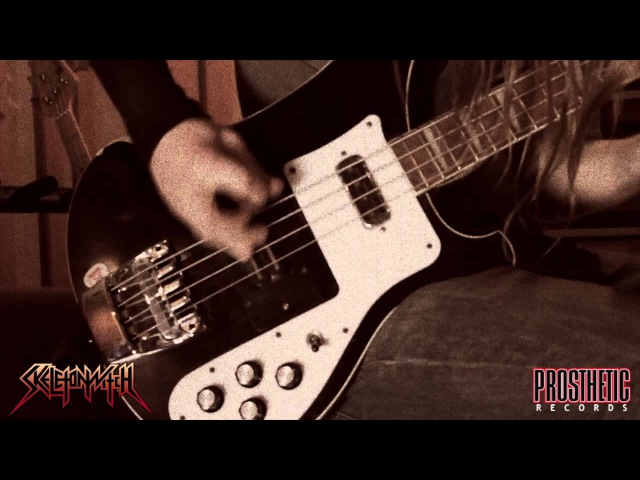 SKELETONWITCH - Burned From Bone behind-the-scenes studio tracking footage