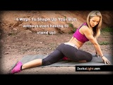 Zuzka Light Workout - Best Butt Workout With Zuzana For Women at HOME 10 Minute Class