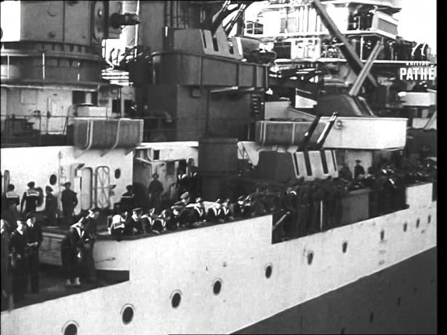 French Battleship Richelieu Home (1940-1949)
