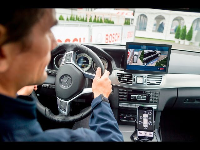 Bosch at IAA 2015: 3D surround view