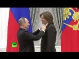 Владимир Путин вручил орден «Дружбы» Дмитрию Маликову