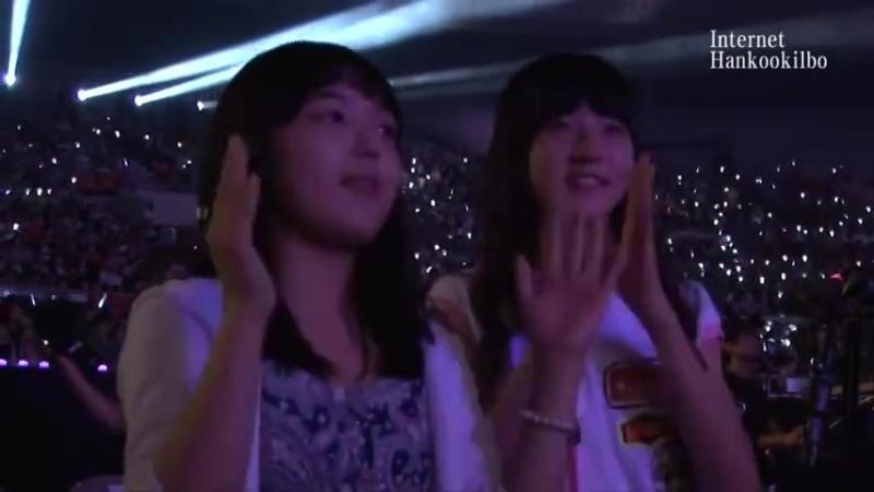 Сэрон и Синэ на концерте Beast