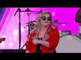 Келли Кларксон Kelly Clarkson Performs Invincible - Jimmy Kimmel Live Лос-Анджелес 19 08 2015 HD