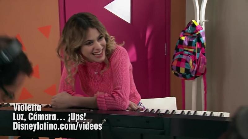 Violetta - Luz, Cámara… ¡Ups! - 12 » Freewka.com - Смотреть онлайн в хорощем качестве