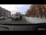 Авария 25 12 2014 г. Ауди vs ГАЗель