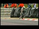 BSB British Superbikes Eurosport crash compilation