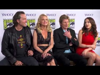 The 'Sex&Drugs&Rock&Roll' Cast Would Sleep With Wolverine, Trip With Spider Man, Let Robin Watch