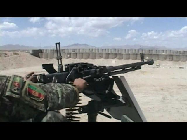 DShK 1938 12.7mm Heavy Machine Gun Live Fire