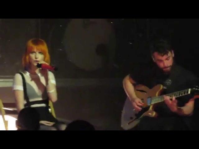 Franklin - Paramore @ Bell Auditorium, Augusta - April 27, 2015