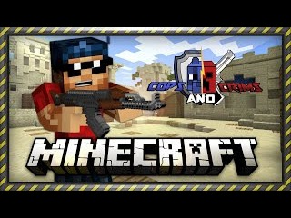 Minecraft | Mini Game | Cops and Crims/CS:GO в Minecraft