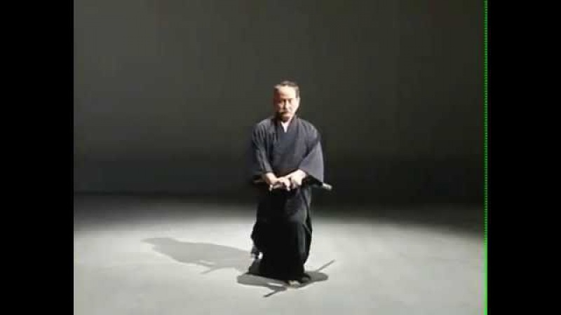 Zen Nippon Kendo Renmei Seitei Iaido Kata 1-12