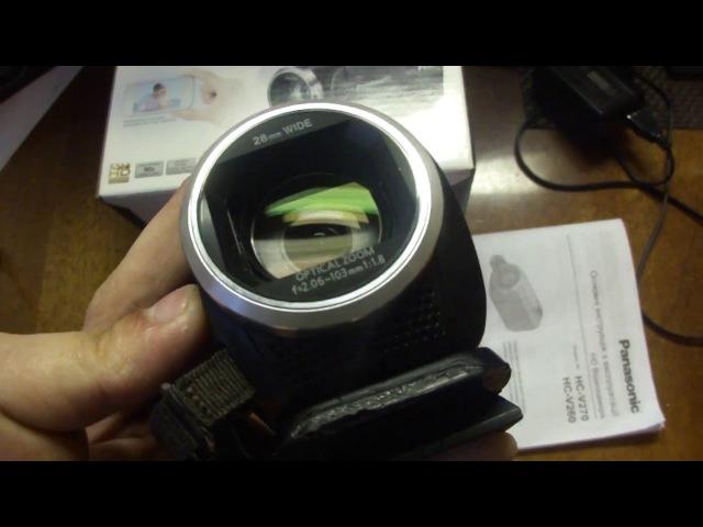 Моя новая видеокамера panasonic hc-v270 и ее краткий обзор =3