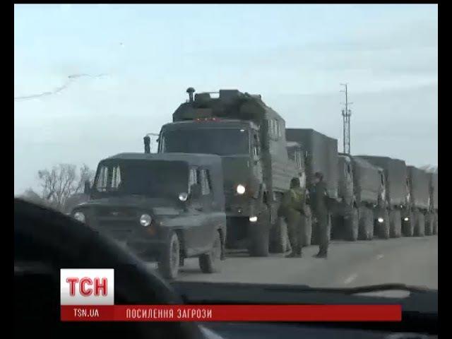 Росія збільшує у Криму військову присутність – РНБО