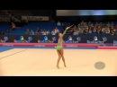 Aleksandra SOLDATOVA RUS 2015 Rhythmic Worlds Stuttgart Qualifications Clubs