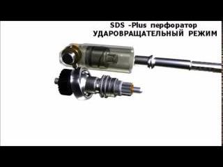 Ударовращательный режим работы SDS+ перфоратора