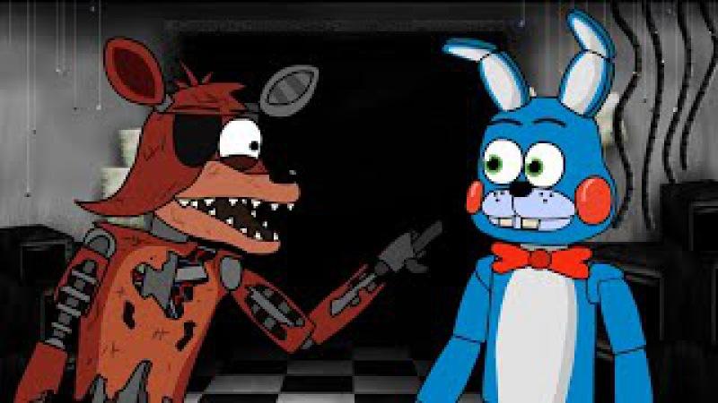 5 ночей с фредди мультик - Умный Фокси (Мульт,Анимация) Фнаф анимация