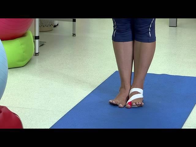 Гимнастика при деформации стопы