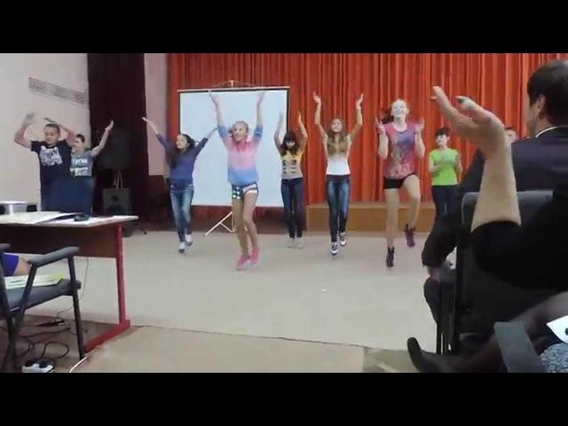 ТАНЕЦ НА КТД/флэшмоб/ШКОЛА/ШООООК