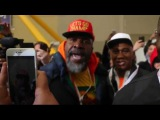 Shannon Briggs attacks David Haye at Joshua vs Martin Weigh-In