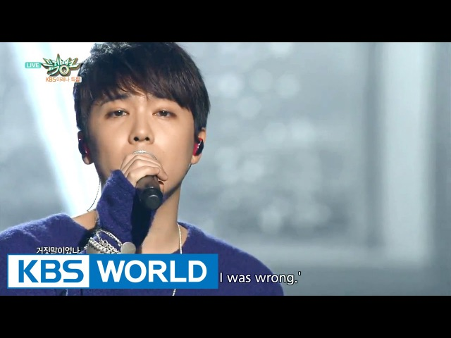 Lee HongGi - Insensible | 이홍기 - 눈치 없이 [Music Bank HOT Stage / 2015.11.27]