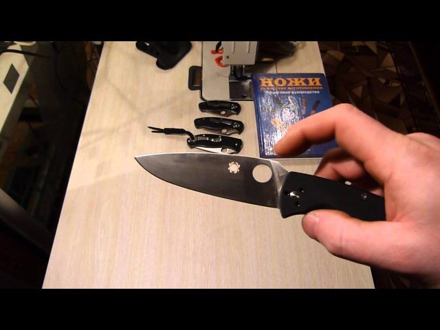 Spyderco Resilience. Сложно удивить этот нож работой.